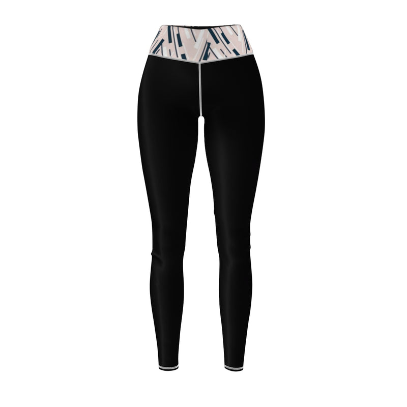 Queen Of The Beach® Women's Abstract Circle Crown Sports Leggings