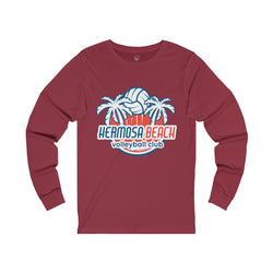 King Of The Beach™ Hermosa Beach Collection Unisex Jersey Long Sleeve Tee