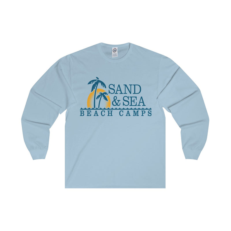 Queen Of The Beach™ Sand & Sea Beach Camps Collection Unisex Long Sleeve Tee