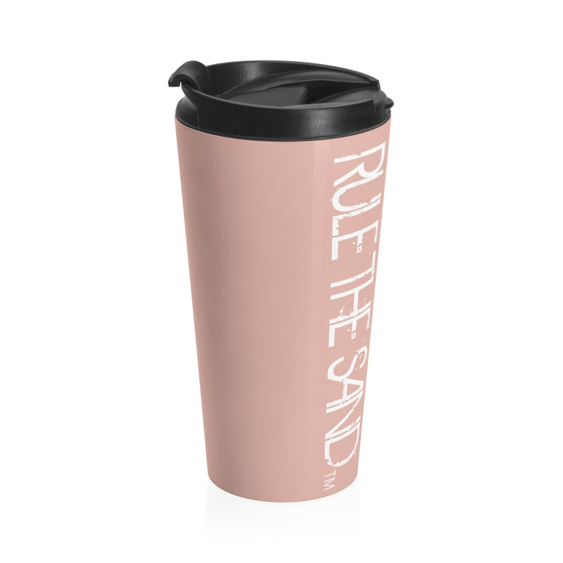 Rule the Sand™ Millennial Pink Stainless Steel Travel Mug