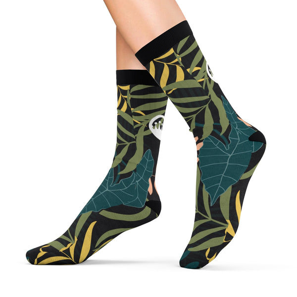 "King Of The Beach® Circle Crown™ ""Jungle Fever"" Sublimation Socks"