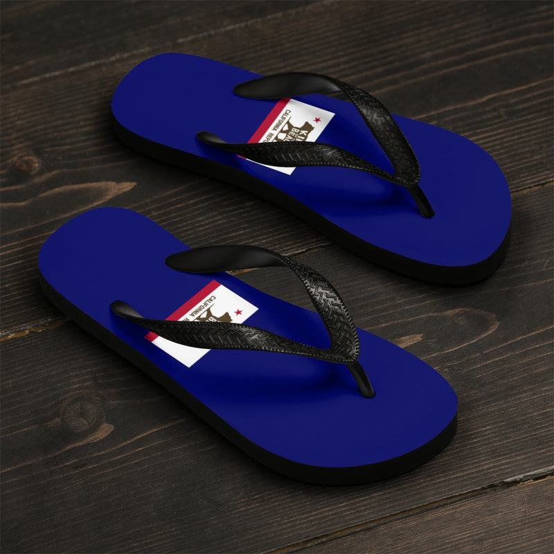 King Of The Beach® California Club Collection Navy Flip-Flops