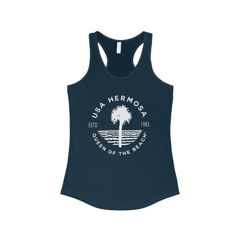 Queen Of The Beach™ Hermosa Beach Collection Classic Women's Racerback Tank