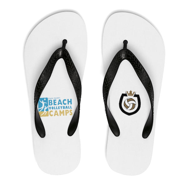 King Of The Beach® Sinjin Smith's Beach Volleyball Camps Flip-Flops