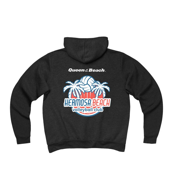 Queen Of The Beach™ Hermosa Beach Collection Sponge Fleece Full-Zip Hoodie