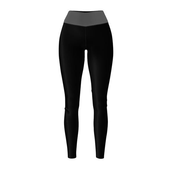 Queen Of The Beach® Women's Grey-Band Circle Crown Sports Leggings