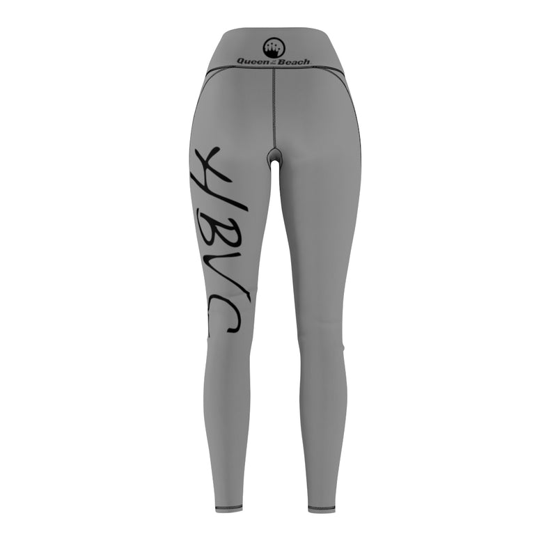 Queen Of The Beach™ Hermosa Beach Collection Grey Sport Leggings