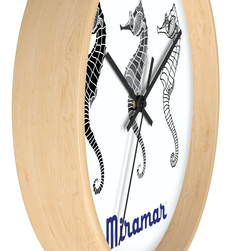 Miramar® Seahorse Collection Wall clock