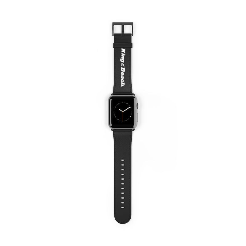 King of the Beach® Signature Black Watch Strap