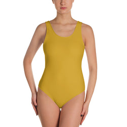 "QOB® Circle Crown ""Sunshine"" One-Piece Swimsuit"