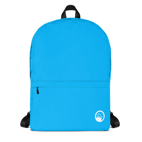 "King of the Beach® Circle Crown ""Union"" Aqua Backpack"