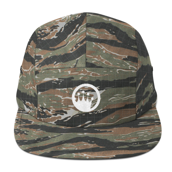 King of the Beach® Circle Crown Five Panel Hat