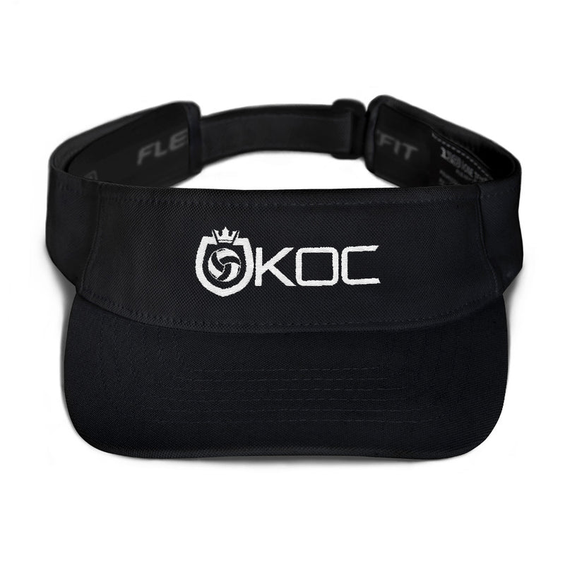 King Of The Court® Shield Logo Visor