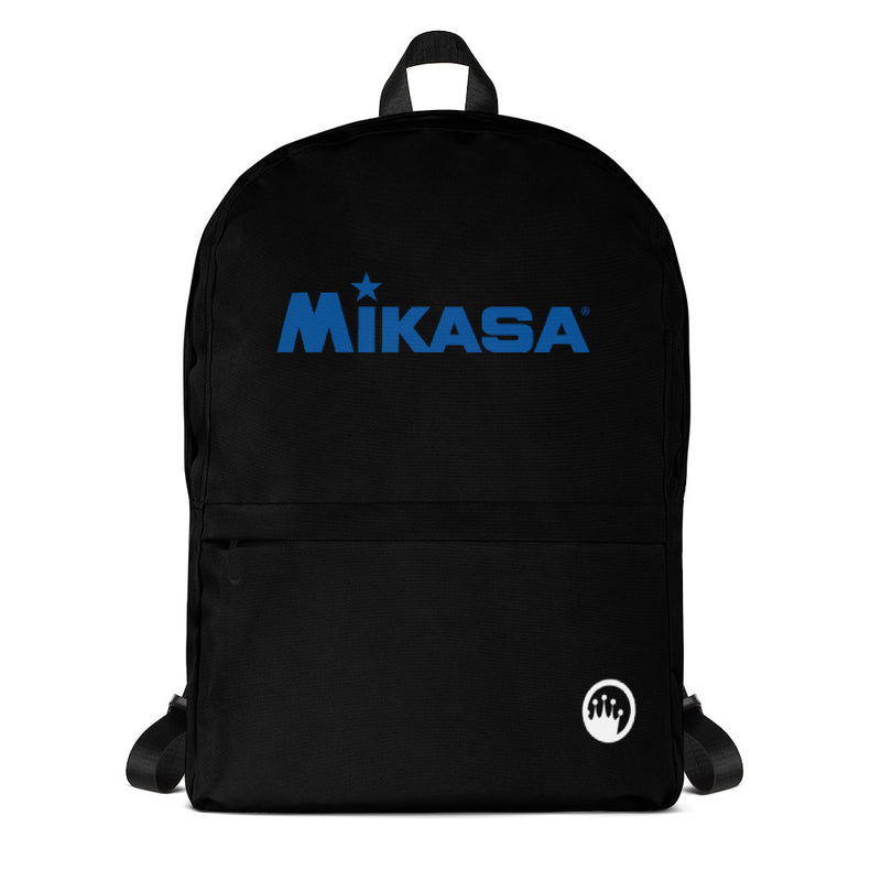 King Of The Beach® x Mikasa® Circle Crown Black Backpack
