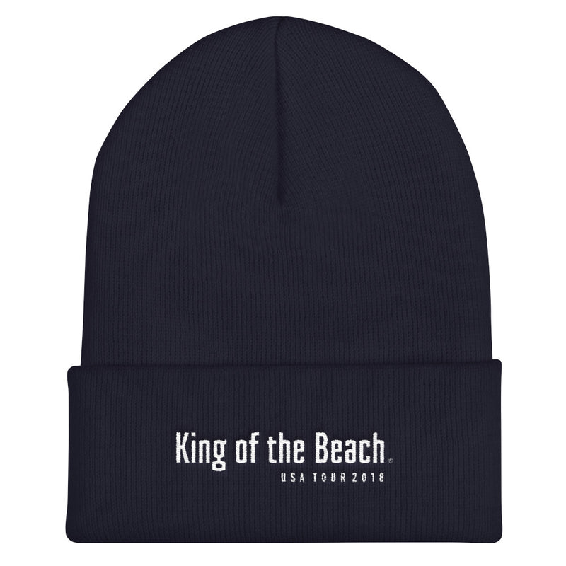 King Of The Beach® USA Tour 2018 Cuffed Beanie