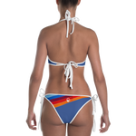 "QOB® Circle Crown ""Rainbow"" Reversible Bikini"