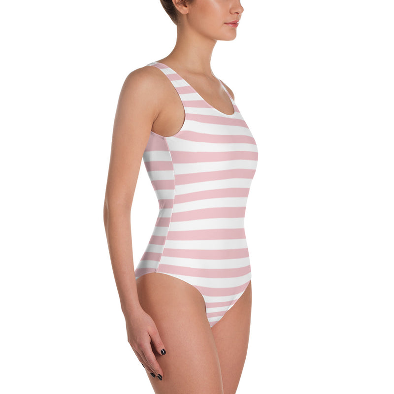"QOB® Circle Crown ""Boardwalk""  One-Piece Swimsuit"
