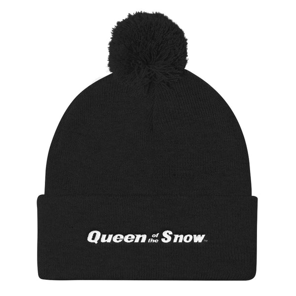Queen Of The Snow™ Pom Pom Knit Cap