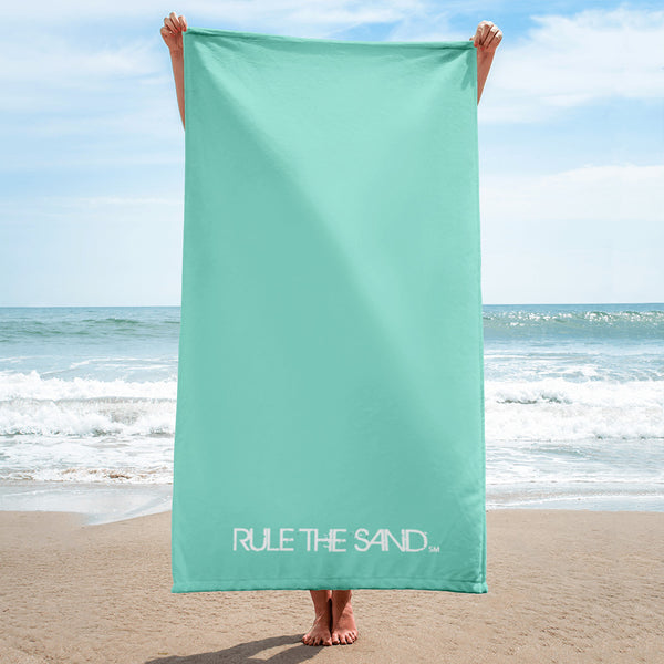 "Queen of the Beach® Rule the Sand ""Sea"" Towel"