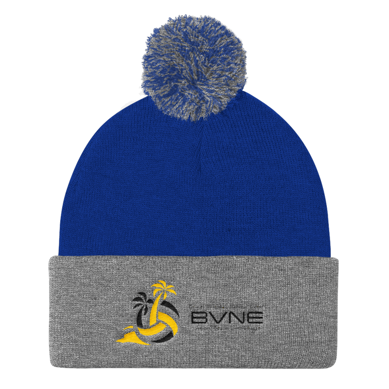 BVNE™ Collection 2018 Competition Pom Pom Knit Cap