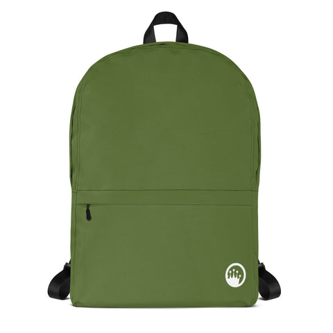 "King of the Beach® Circle Crown ""Union"" Green Backpack"