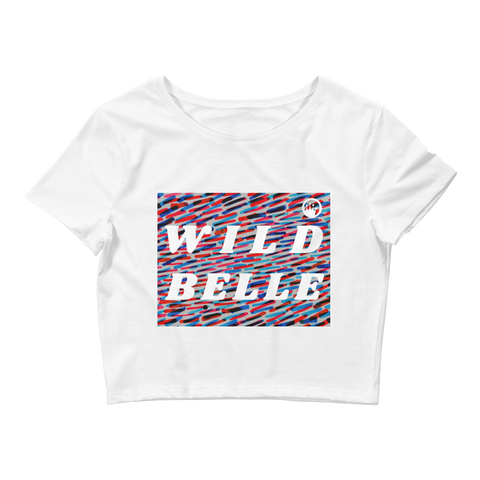 "Queen of the Beach®  ""Wild Belle"" Crop Top"