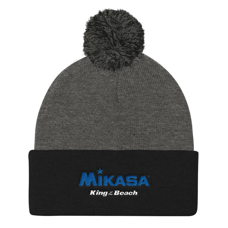 King Of The Beach® x Mikasa® Signature Pom Pom Knit Cap