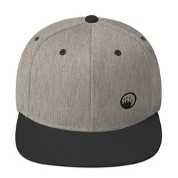 King Of The Beach® Circle Crown Snapback Hat