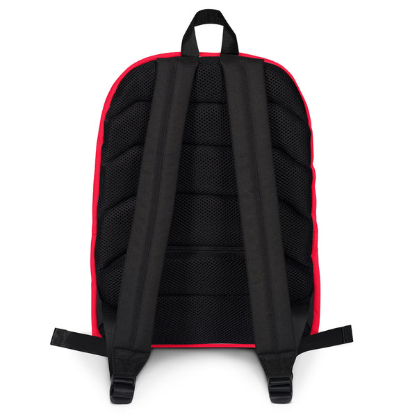 "King of the Beach® Circle Crown ""Union"" Red Backpack"