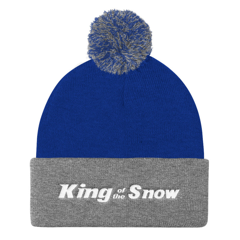King Of The Snow™ Pom Pom Knit Cap