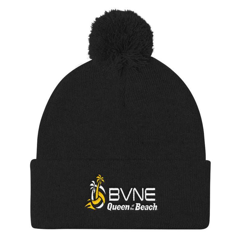 Queen Of The Beach™ BVNE Collection Pom Pom Knit Cap