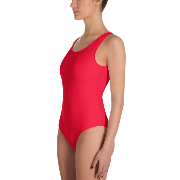 "QOB® Circle Crown ""Heat"" One-Piece Swimsuit"