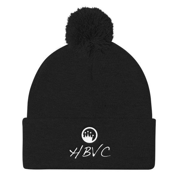 Queen of the Beach® HBVC Pom Pom Knit Cap