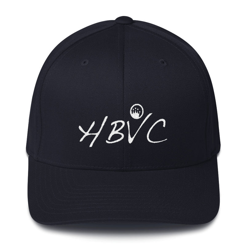 Queen Of The Beach® HBVC Circle Crown™ Flexfit Dad Cap
