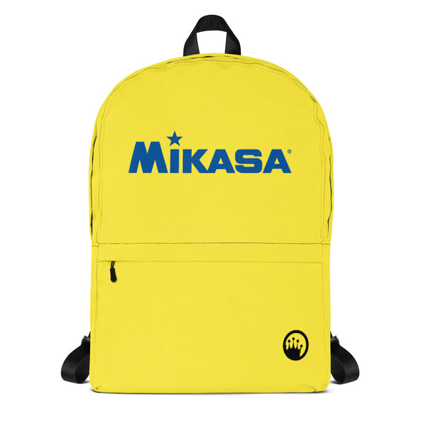King Of The Beach® x Mikasa® Circle Crown Yellow Backpack