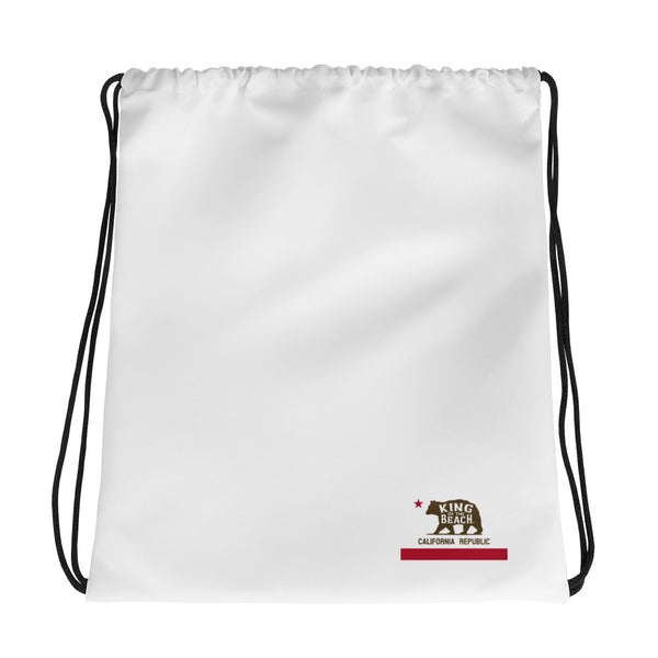 King Of The Beach® California Club Drawstring bag