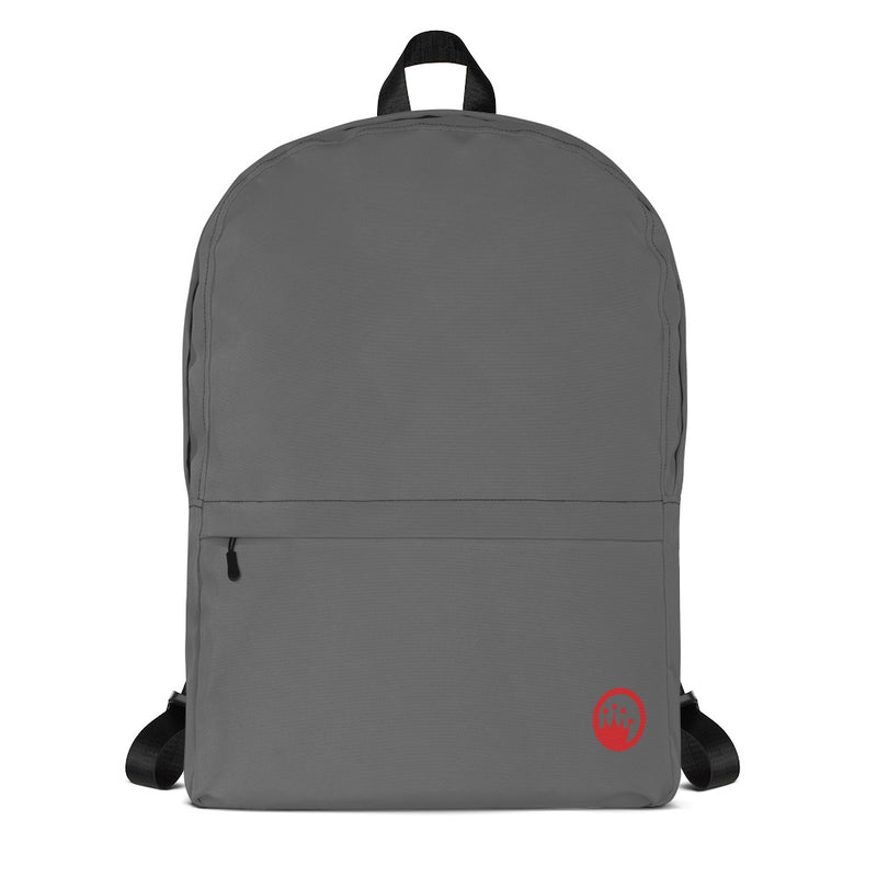 "King of the Beach® Circle Crown ""Union"" Grey Backpack"