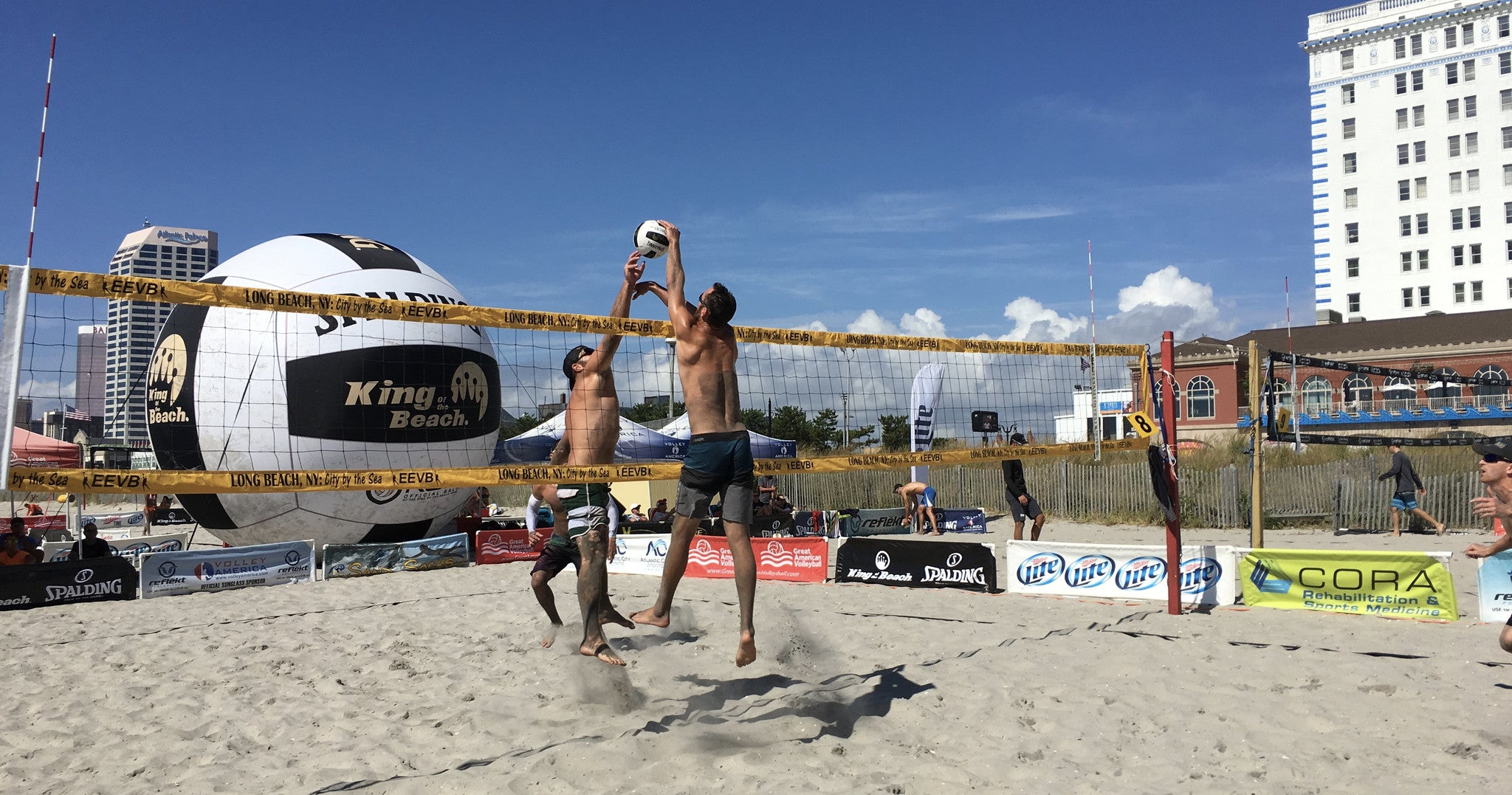 Great American Volleyball  Rock the Inlet Open