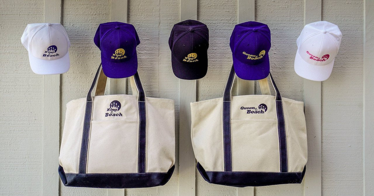 King of the Beach® and Queen of the beach™ Spring 2017 Hat and Bag Collection