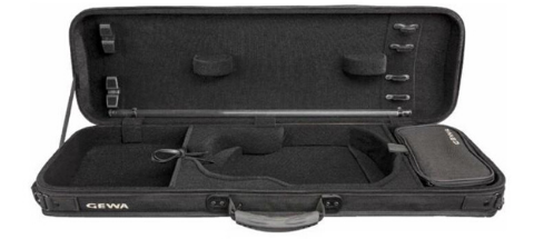 Gewa Oxford Oblong Black Violin Case