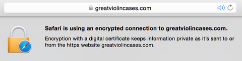 Safari SSL Secure