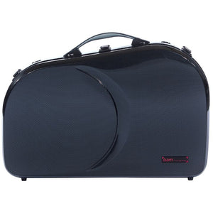 Bam Hightech Adjustable French Horn Case Black Carbon