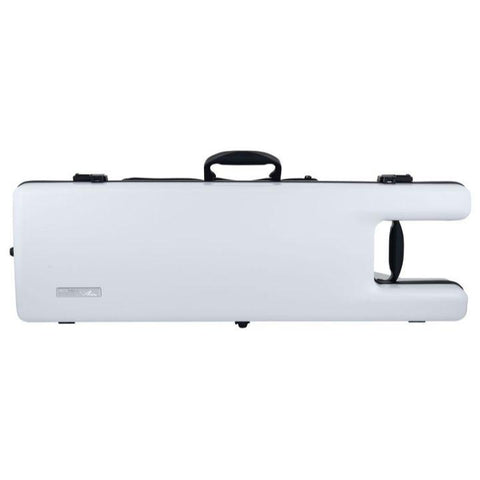 Image of Gewa Air Ergo Matte White Oblong Violin Case- Front