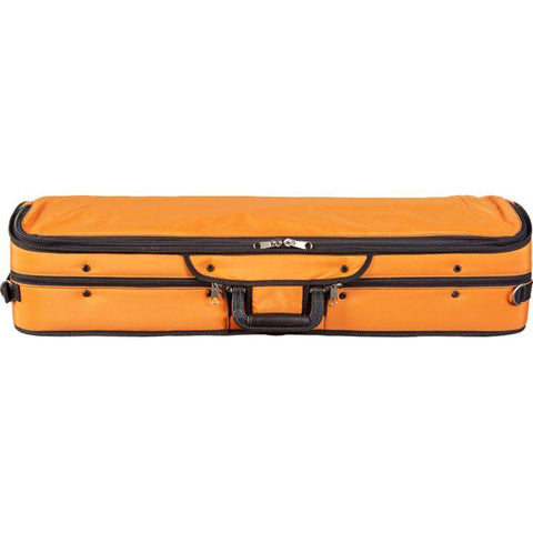 Bobelock 1003 Featherlite Puffy Oblong Violin Case Orange- Exterior