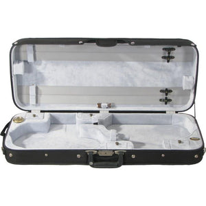 Bobelock 1015 Gray Velvet Double Violin Case