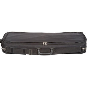 Gray Velvet Double Violin Case