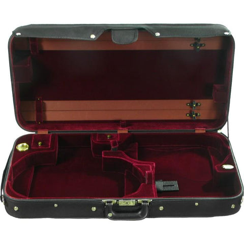 Wine Velvet Violin / Adjustable Viola Case
