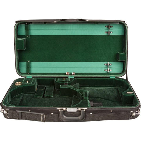 Bobelock 1023 Green Velvet Violin / Adjustable Viola Case