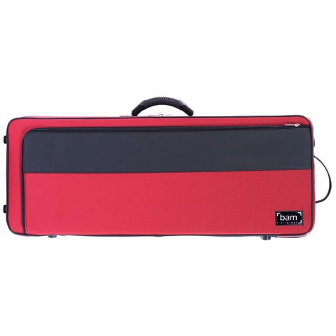 Red oblong Viola Case