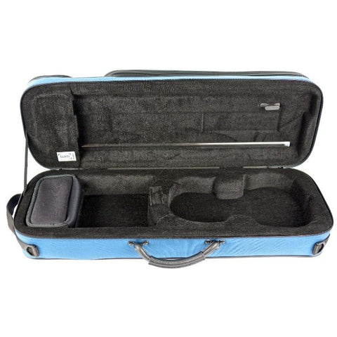 Image of 3/4 and 1/2 Size Violin Case Blue